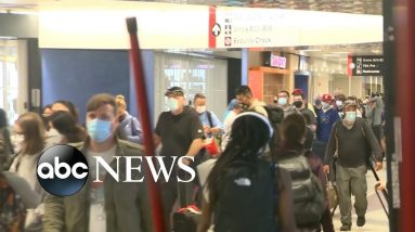 ABC News Live: US unveils new international COVID-19 travel requirements