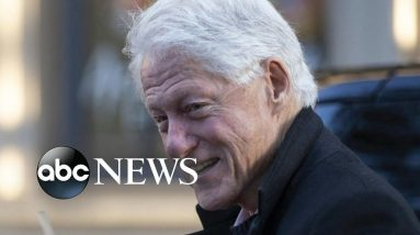 Bill Clinton admitted to hospital l ABC News