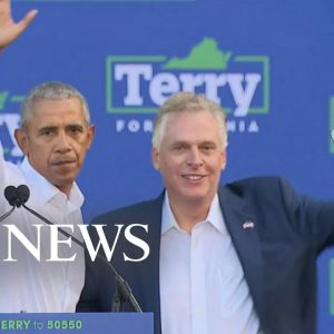 'This is the biggest race in America': McAuliffe