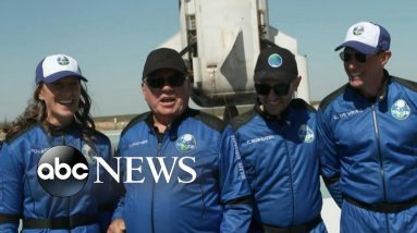 William Shatner and crew detail trip to space